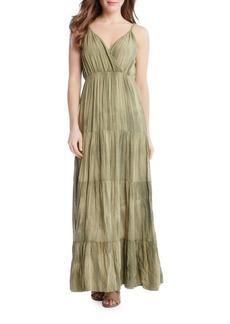 Karen Kane Tiered Boho Maxi Dress
