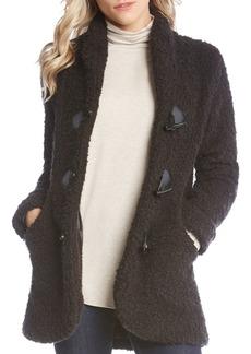 Karen Kane Toggle-Button Boucle Jacket