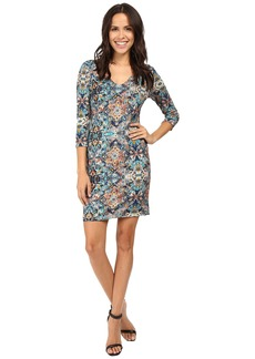 Karen Kane Tulum Tile Dress