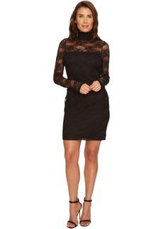 Karen Kane Turtleneck Lace Dress