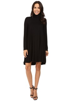 Karen Kane Turtleneck Maggie Trapeze Dress