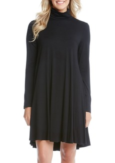 Karen Kane Turtleneck Swing Dress