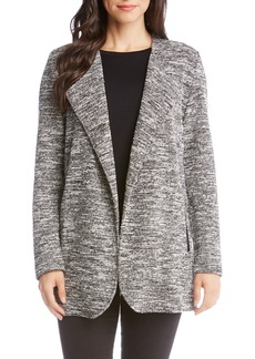 Karen Kane Tweed Knit Jacket
