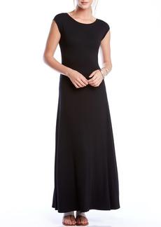 Karen Kane V-Back A-Line Maxi Dress