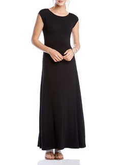 Karen Kane V-Back Maxi Dress