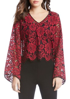 Karen Kane V-Neck Bell Sleeve Top