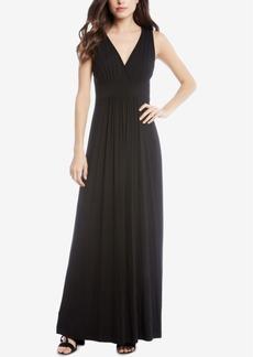 Karen Kane V-Neck Maxi Dress