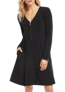 Karen Kane V-Neck Travel Dress