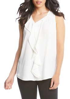 Karen Kane Waterfall Ruffle Top