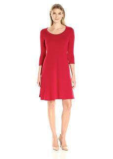 Karen Kane Women's 3/4 Sleeve Sweater Dress  S