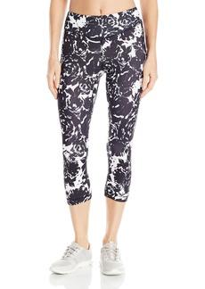 Karen Kane Women's Active Crop Pant Print