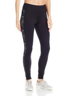Karen Kane Women's Active Long Pant Side Lace Black