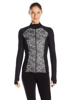 Karen Kane Women's Active Mix Lace Jacket