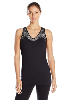Karen Kane Women's Active Lace Mix Tank