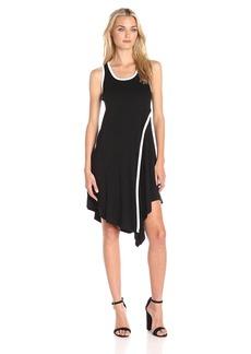 Karen Kane Women's Angled Drape Dress