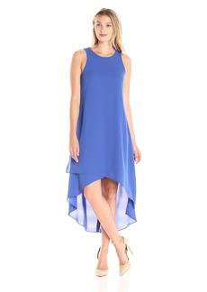 Karen Kane Women's Asymmetric Hi-Lo Dress  S