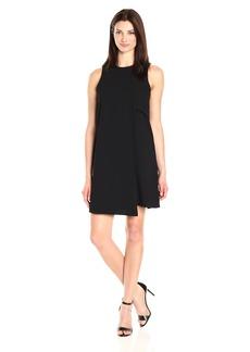 Karen Kane Women's Asymmetric Shift Dress  XL