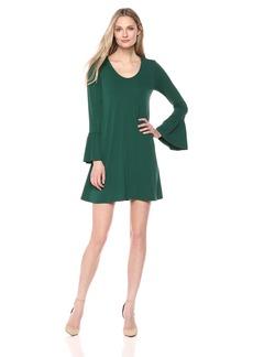 Karen Kane Women's Bell Sleeve Dress  L