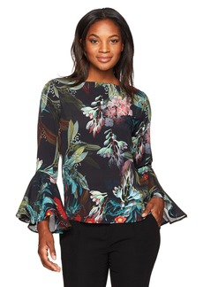 Karen Kane Women's Bell Sleeve Top  M