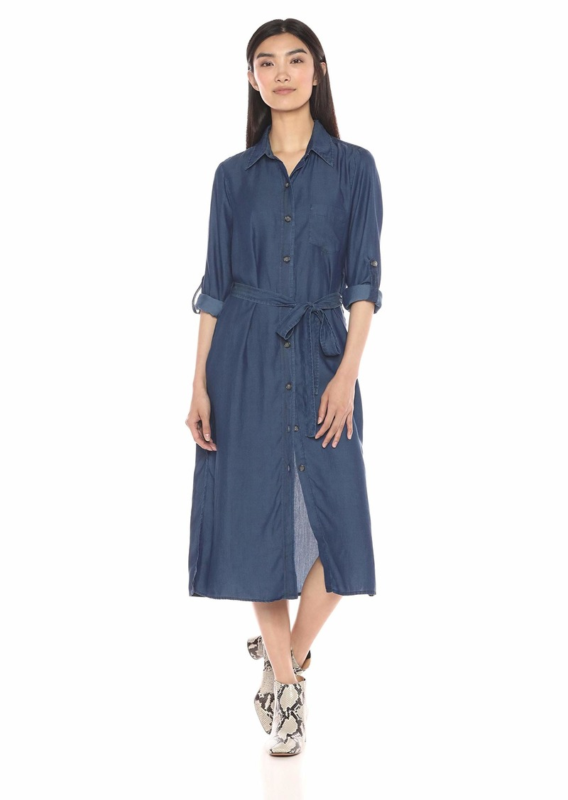 Karen Kane Women's Chambray Shirtdress