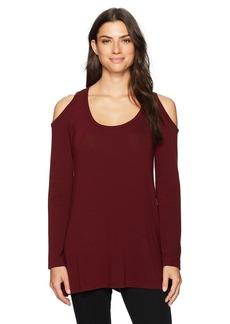 Karen Kane Women's Cold Shoulder Hi-Lo Sweater  M