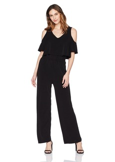 Karen Kane Women's Cold Shoulder Jumpsuit  XS