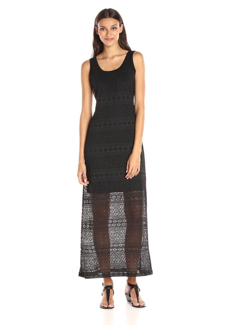 Karen Kane Women's Crochet Maxi Dress