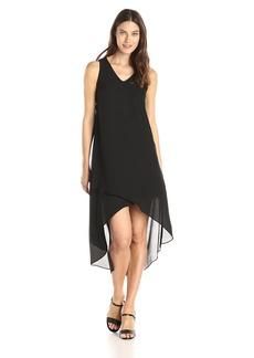 Karen Kane Women's Crossover V-Neck Dress