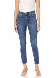 Karen Kane Women's Dark Distressed Skinny Jeans