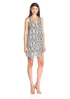Karen Kane Women's Diamond Multi-Layer Dress