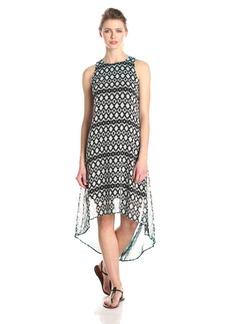 Karen Kane Women's Dip Dye Hi-Lo Hem Dress