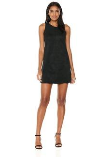 Karen Kane Women's Faux Suede a-Line Dress  S