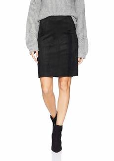 Karen Kane Women's Faux Suede Skirt
