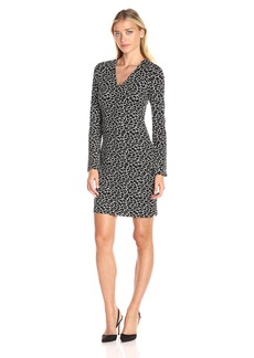 Karen Kane Women's Flare-Sleeve Sheath Dress  XS