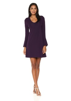 Karen Kane Women's Flare Sleeve Taylor Dress  XS
