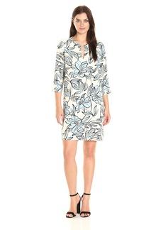 Karen Kane Women's Floral Shift Dress  XL