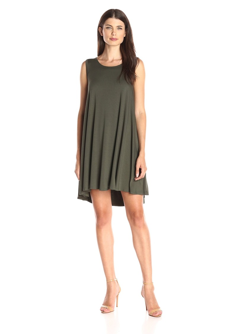 Karen Kane Women's Green Maggie Trapeze Dress