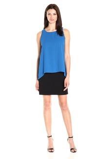 Karen Kane Women's Hallie Double Layer Dress  XS