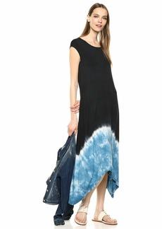 Karen Kane Women's Handkerchief Hem Dress tie dye Extra Small