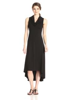 Karen Kane Women's Katie Cowl Neck Maxi Dress black S