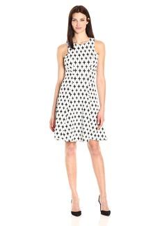 Karen Kane Women's Knit Flare Dress  XL