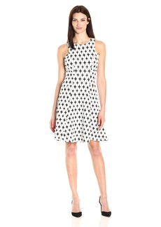Karen Kane Women's Knit Flare Dress  XS