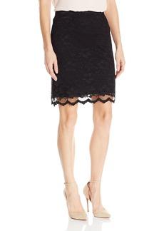 Karen Kane Women's Lace Skirt  S