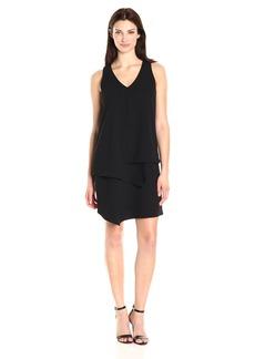 Karen Kane Women's Layered Angle Dress  M