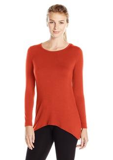 Karen Kane Women's Long Sleeve Drape Back Top