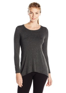 Karen Kane Women's Long Sleeve Drape Back Top
