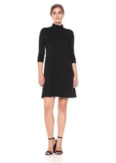 Karen Kane Women's Long Sleeve Turtleneck Dress  M