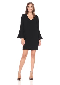 Karen Kane Women's Madeline Bell Sleeve Dress  XS