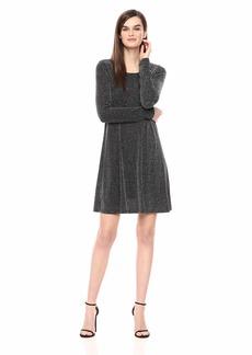 Karen Kane Women's  Metallic Chloe Dress Extra Small