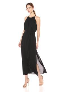 Karen Kane Women's Morgan Halter Maxi Dress  Extra Small